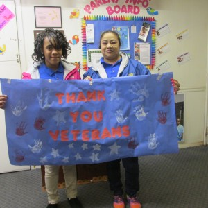 Preschool Thanks Veterans
